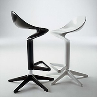 Spoon Stool by Kartell Design Star Design Star HGTV