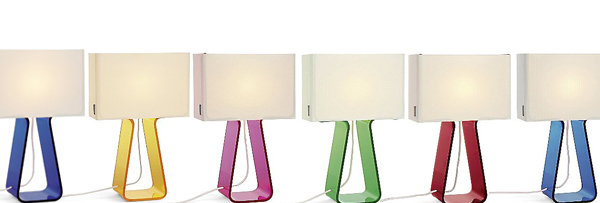 Tube Top Lamps by Pablo