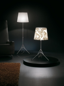 Gilda Ornaments Floor Lamp by Pallucco