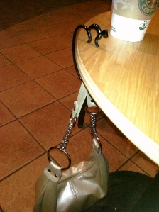 Minou Purse Hook by Alessi