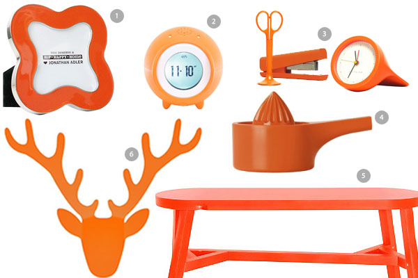 Tangerine Tango Home Accessories