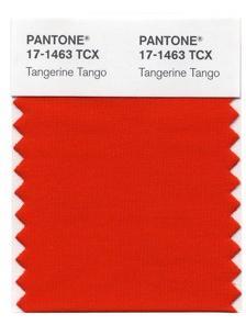 Tangerine Tango by Pantone